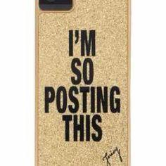 I'm so posting - This IPhone Case