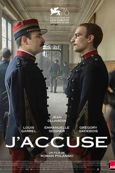 Jean Dujardin and Louis Garrel in J'accuse Louis Garrel, Jean Dujardin, George Mackay, Martin Lawrence, Roman Polanski, Dave Bautista, Dwayne Johnson, Tv Series Online, Movies Online