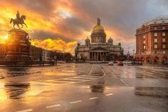 Исаакиевская площадь. Автор фото: Eduard_gordeev_.