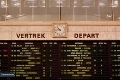 50s departure board
