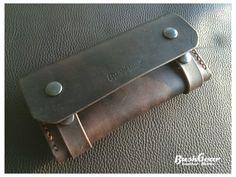 Partout Bushcraft ™Fire Starter en cuir Collier