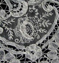 Rosepoint needlelace and bobbin lace.  brussels lace #rosepoint #needlelace #bobbinlace