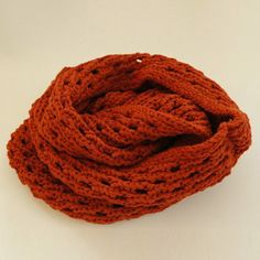 Chic Style Solid Color Openwork Knitted Scarf, WINE RED in Scarves   DressLily.com