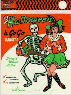 Halloween a Go Go Dancers