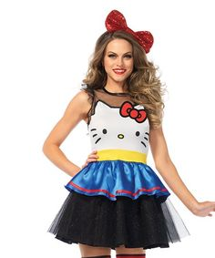 Hello Kitty Adult Halloween Costume for women. Check out this super cute Hello Kitty Halloween Costume! ^^^Click now to buy in time for Halloween! ^^^ | Hello Kitty Halloween | Hello Kitty Halloween Costume | #affiliatelink #ad #hellokitty #sanrio #halloween #costume #dress #kawaii #party #kikilovestopin