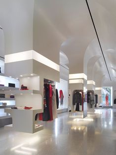 Alexander McQueen flagship store by Pentagram, Los Angeles store design