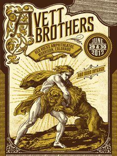 status-serigraph-The-Avett-Brothers-Morrison-CO-2012.jpg (602×800)