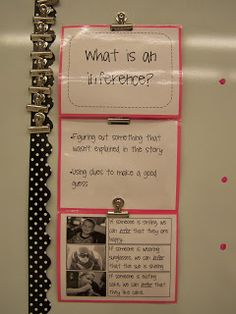 Making Inferences (for my 6th graders)