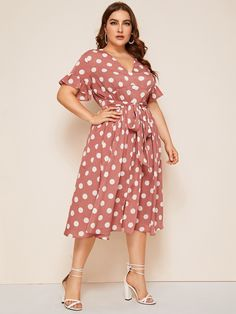 Plus Size Winter Outfits, Plus Size Fall Fashion, Curvy Fashion, Plus Size Outfits, Casual Dresses With Sleeves, Plus Size Dresses, Looks Plus Size, Vestidos Vintage, Looks Chic