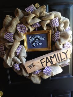 """I LOVE the """"family"""" board on it!!! That will be a must!"""