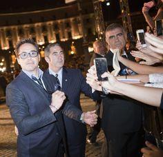 alla premiere europea di dal 23 ottobre al cinema. Robert Duvall, Robert Downey Jr, Downey Junior, Mixer, Manchester, Cinema, February, Mexican, Lucha Libre