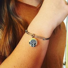 Tree of Life  Stainless Steel Aromatherapy by MotherDaughterJewel