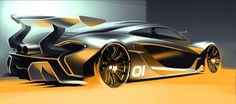 McLaren P1 GTR concept will will be unveiled at 2014 Pebble Beach Concours d'Elegance