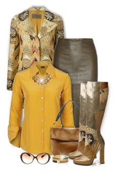 """Etro Short Jacquard Coat"" by kiki-bi ❤ liked on Polyvore featuring moda, Etro, STOULS, Nina Ricci, Sole Society, Boots, jacquard i shortcoat"
