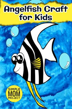 Join in the fun of easy sea themed crafts with this free printable Angelfish craft. Angelfish are one of the most beautiful fish in our oceans and they make gorgeous printable crafts for home, preschool or kindergarten. Even big kids love the beauty of angelfish - so this simple angelfish craft is sure to be a hit in your home just like it is in ours! Enjoy the fun of sea themed Angelfish crafts with your kids today by downloading your free printable templates. Easy Preschool Crafts, Fall Preschool, Fun Diy Crafts, Camping Crafts, Sea Animal Crafts, Animal Crafts For Kids, Crafts For Kids To Make, Printable Templates, Printable Crafts