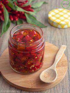 Italian Dishes, Bottle Design, Bruschetta, Pesto, Mango, Chili Habanero, Stuffed Peppers, Canning, Ethnic Recipes
