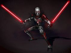 Star Wars The Clone Wars: Lightsaber Duels lets players step into the roles of their favorite Star Wars heroes and villains and do battle. Star Wars Sith, Star Wars Droids, Clone Wars, Star Wars Concept Art, Star Wars Fan Art, Star Wars Cartoon, Star Wars Characters Pictures, Jedi Sith, Battle Droid