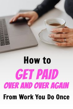 Interesting strategy on how to put your money to work for you once you earn it. How to get paid over and over again from work you do once with dividend investing. Ways To Earn Money, Way To Make Money, How To Get, Quick Money, Money Fast, Online Business From Home, Online Jobs From Home, Fast Money Online, Legit Online Jobs