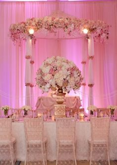 head table with cake structure in the background | jordanpayneevents.com