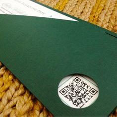 Emerald Green Boarding Pass Invitations $187.90