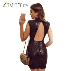 Mini Pul Payet Elbise