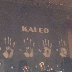 We're seeing Kaleo at the Orpheus