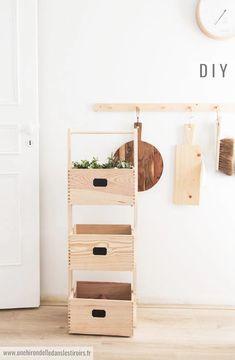 DIY Casiers à légumes | Une hirondelle dans les tiroirs