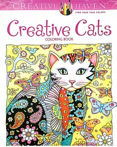 Creative Cats Coloring Book For Adults  https://ktidbits.myshopify.com/collections/adult-coloring-books