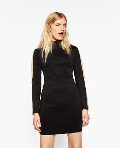 Image 3 of SHORT CASUAL DRESS from Zara