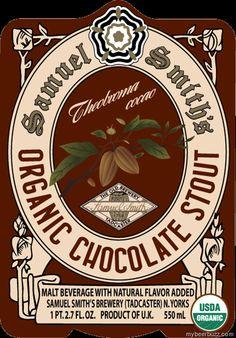 Samuel Smith Organic Chocolate Stout. A nice dessert, rich and sweet.