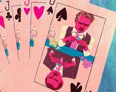 Sting #illustration #illustrator #tatsurokiuchi #casino #paulnewman #robertshaw #sting #movie
