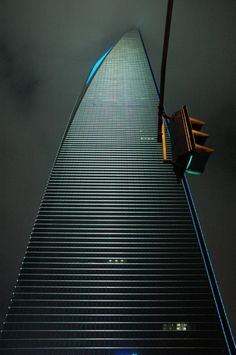 Shanghai Financial District.