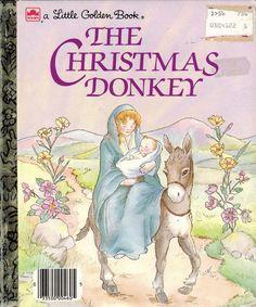 A Little Golden Book: The Christmas Donkey - VGC