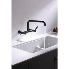 KOHLER Iron/Tones Smart Divide Drop In/Undermount Cast Iron 33 In. Double  Basin Kitchen Sink In White