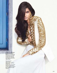 modelsofcolor:    Diana Penty for Vogue India Juy 2012 by Luis Monteiro