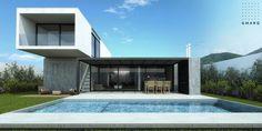 Galeria Fotos - Estudio GMARQ - Casa LR Estilo racionalista - Portal de Arquitectos - Portal de Arquitectos