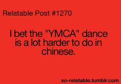 YMCA dance in China