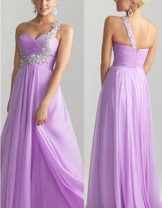 Sexy One Shoulder Bridesmaid dresses Evening dress wedding dress Party custom Chiffon cocktail dress Pageant Dress Homecoming on Etsy, $108.00