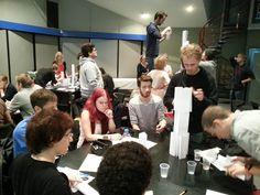 Supinfocom - Supinfogame - ISD 3 écoles du Groupe RUBIKA (CCI Grand Hainaut) Sensibilisation à #entrepreneuriatetudiant par l'équipe #maisonentrepreneuriat - 9 & 23 octobre 2013 / Valenciennes