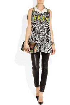 Etro|Printed silk blouse |NET-A-PORTER.COM