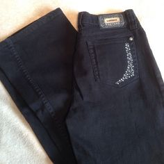 CLOSING MY CLOSET Black bling riding pants. Size 7 Lawman Western Pants