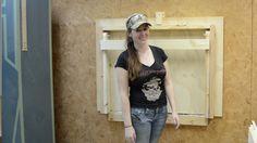 DIY Fold Down Workbench