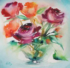 Les aquarelles d'Olivia QUINTIN