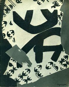 Capogrossi. St. Gallen,  Galerie im Erker,  1965
