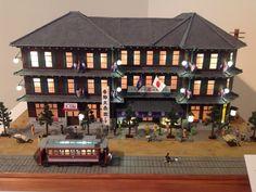 "Miniature model of department store ""Takashimaya""  #Japan #Art #Tokyo"
