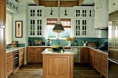Light the Kitchen - Foolproof Formulas for Home Decorating - Southernliving. Designer Phoebe Howard shares bright ideas for illuminating your home's hardest working room.  Learn the Formula for How To Light Your Kitchen