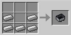 Como fazer um Minecart carrinho de mineração no Minecraft #jogos #games #minecraft