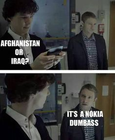 Sassy Jawn is sassy. :D #Sherlock