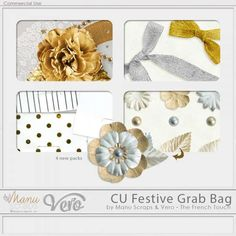 CU Festive Grab Bag by Vero and Manu Scraps - Thanksgiving Weekend 2017 Special