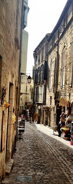 Pezenas, Southern France, just a short drive from our house takes you here